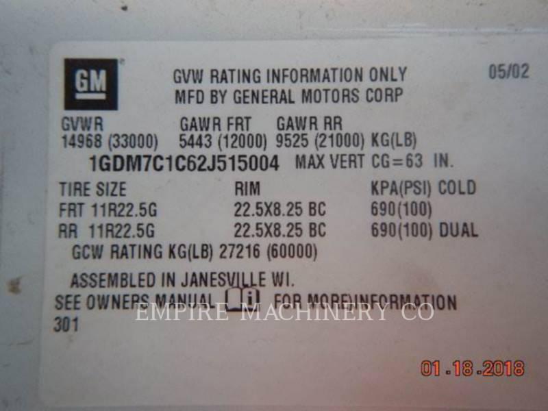 GMC AUTRES T7500 equipment  photo 4