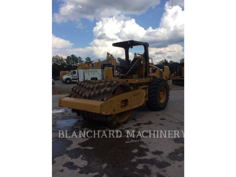 CATERPILLAR COMPACTEUR VIBRANT, MONOCYLINDRE À PIEDS DAMEURS CP56 equipment  photo 2