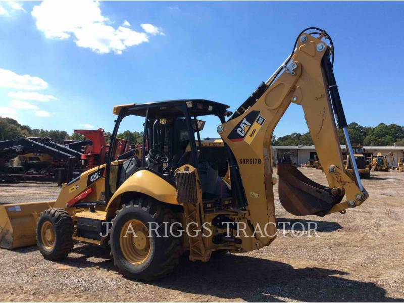 CATERPILLAR CHARGEUSES-PELLETEUSES 420F 4 equipment  photo 4