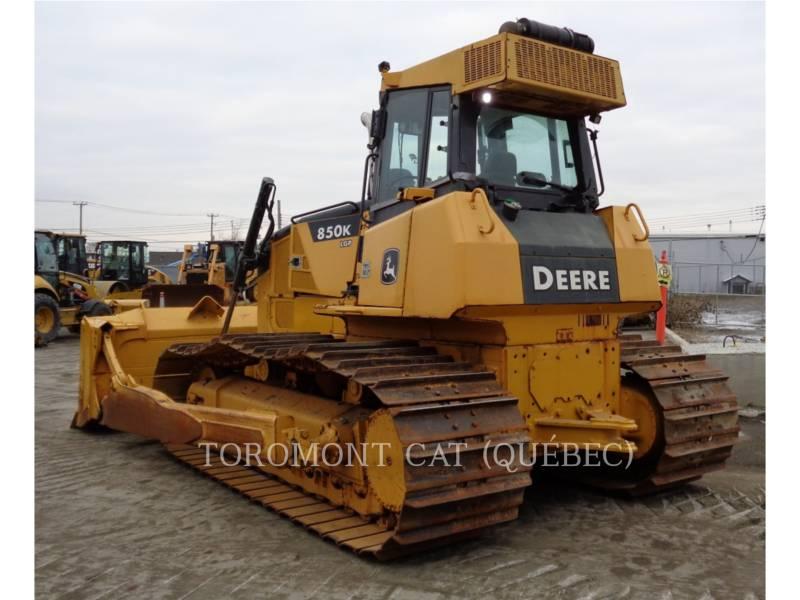 JOHN DEERE TRACK TYPE TRACTORS 850K equipment  photo 3