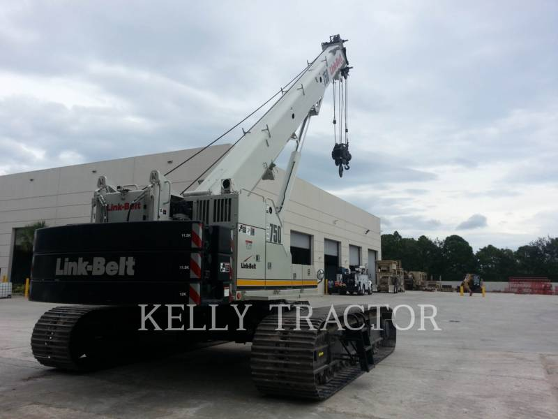 LINK-BELT CONST. CRANES TCC-750 equipment  photo 4