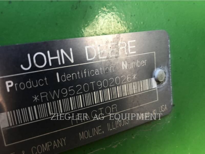 DEERE & CO. TRACTEURS AGRICOLES 9520T equipment  photo 9