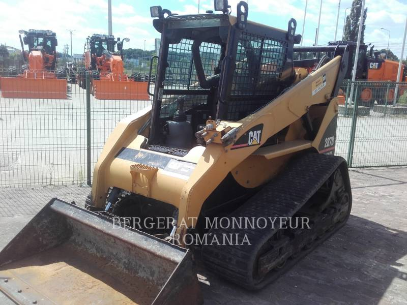 CATERPILLAR CARGADORES MULTITERRENO 287B equipment  photo 1