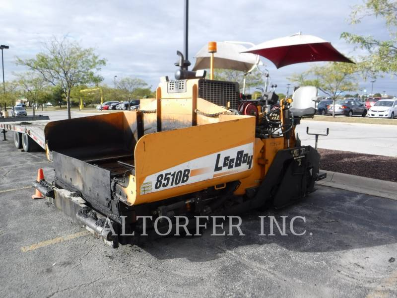 LEE-BOY ASPHALTPRODUKTION 8510B equipment  photo 1