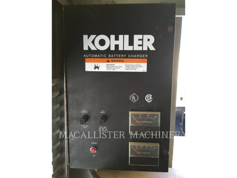 KOHLER STATIONARY GENERATOR SETS 230ROZD01 equipment  photo 11
