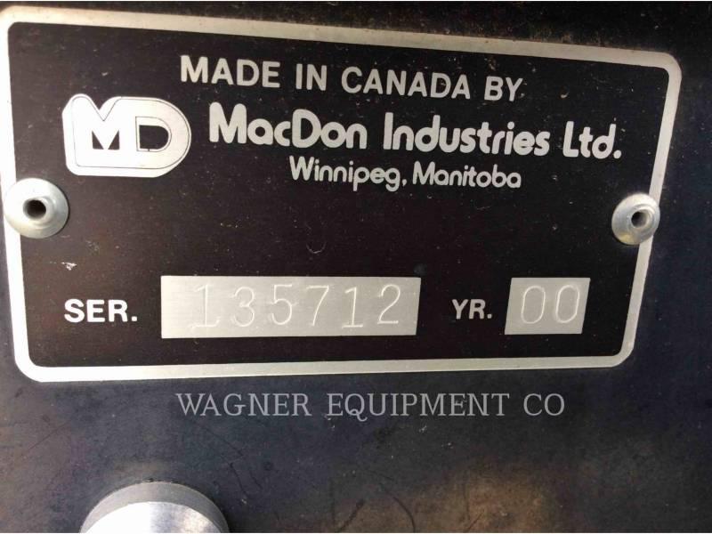 MACDON 农用割草设备 9250 equipment  photo 5