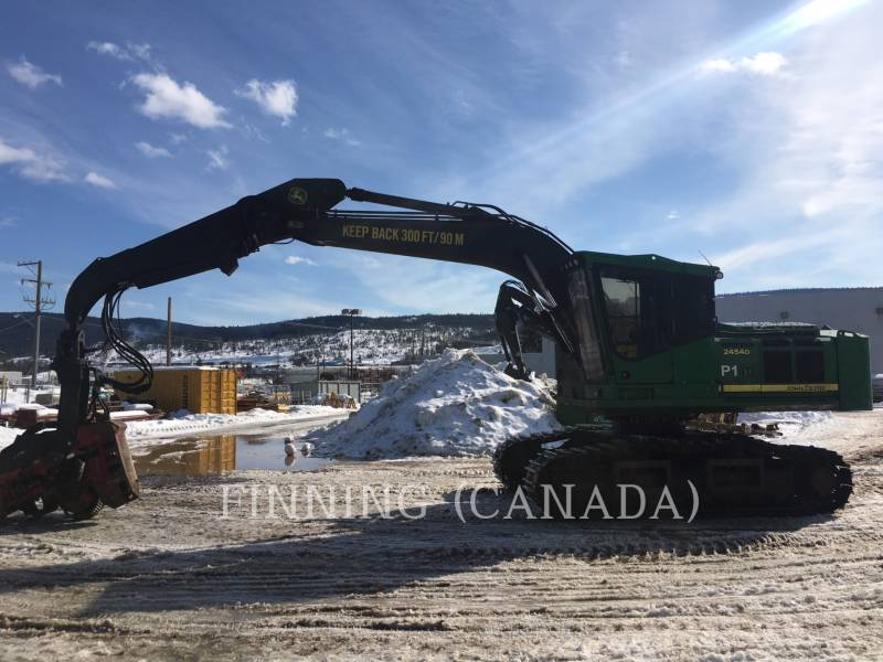 JOHN DEERE Forestal - Procesador 2454D equipment  photo 3