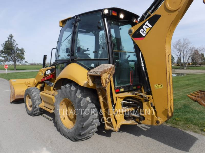 CATERPILLAR KOPARKO-ŁADOWARKI 420E 4ECB equipment  photo 5