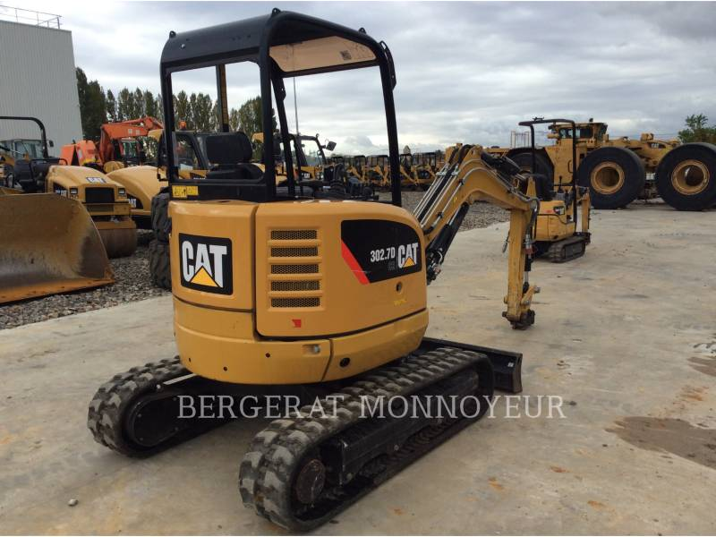 CATERPILLAR ESCAVADEIRAS 302.7D CR equipment  photo 4