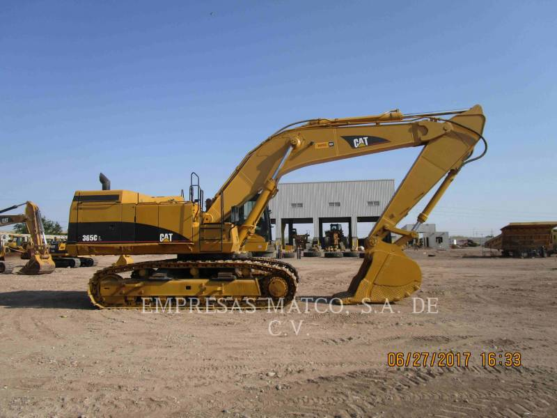CATERPILLAR KETTEN-HYDRAULIKBAGGER 365CL equipment  photo 1