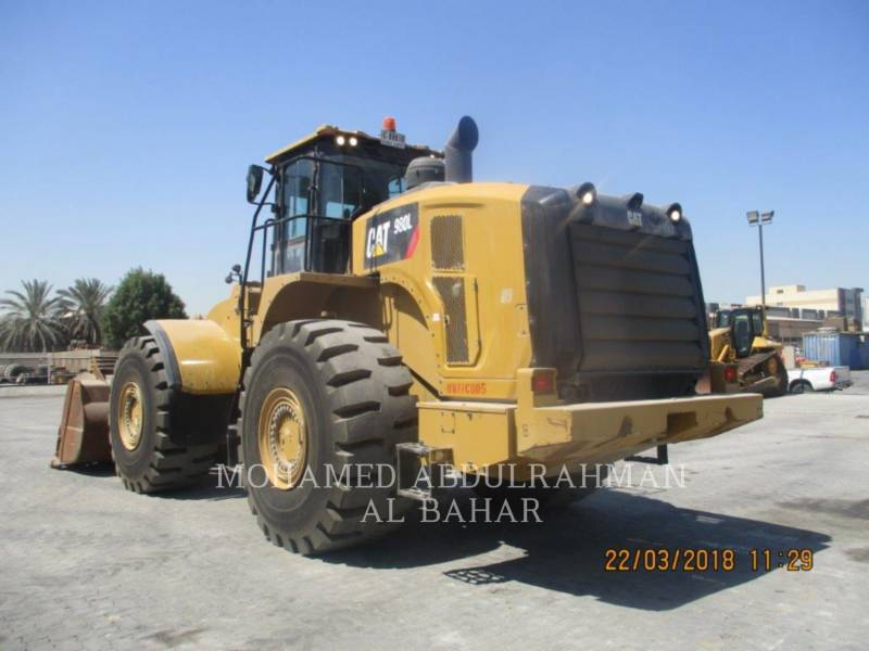 CATERPILLAR CARGADORES DE RUEDAS 980 L equipment  photo 2