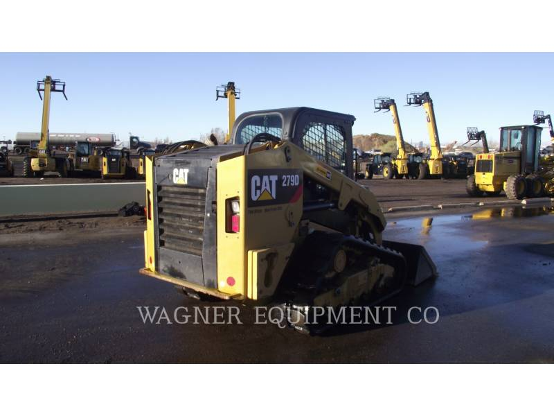 CATERPILLAR MINICARGADORAS 279D HF equipment  photo 3