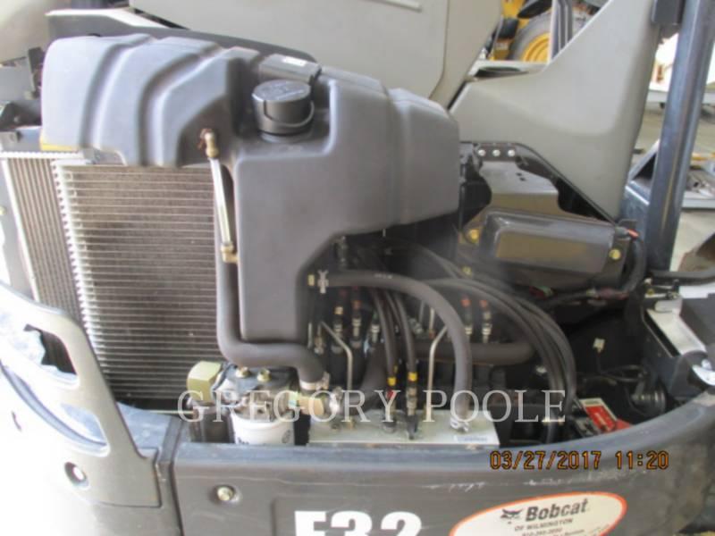 BOBCAT TRACK EXCAVATORS E32 equipment  photo 15