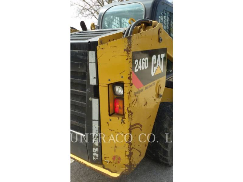 CATERPILLAR PALE COMPATTE SKID STEER 246 D equipment  photo 23