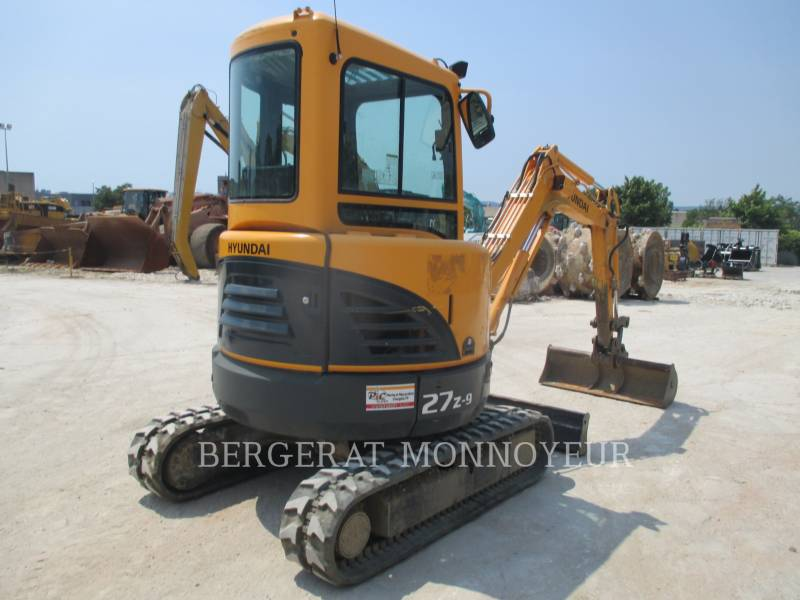 HYUNDAI TRACK EXCAVATORS R27Z.9 equipment  photo 3