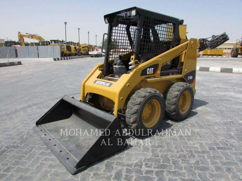 CATERPILLAR SKID STEER LOADERS 216B3LRC equipment  photo 1
