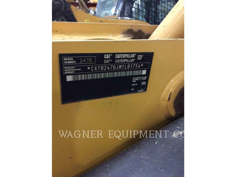 CATERPILLAR CARGADORES MULTITERRENO 247B equipment  photo 5
