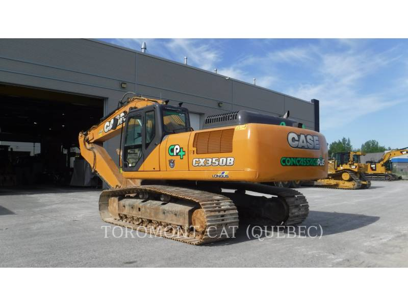 CASE EXCAVADORAS DE CADENAS CX350B equipment  photo 4