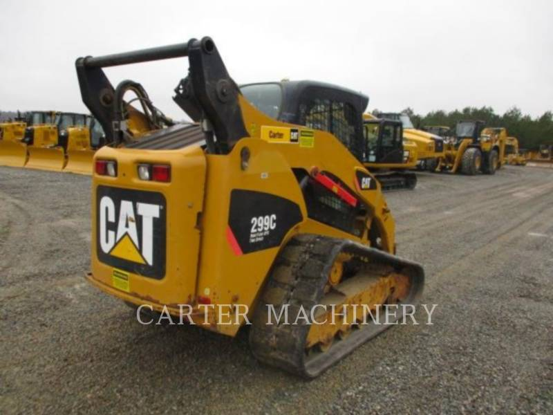CATERPILLAR SKID STEER LOADERS 299C ACHF equipment  photo 2