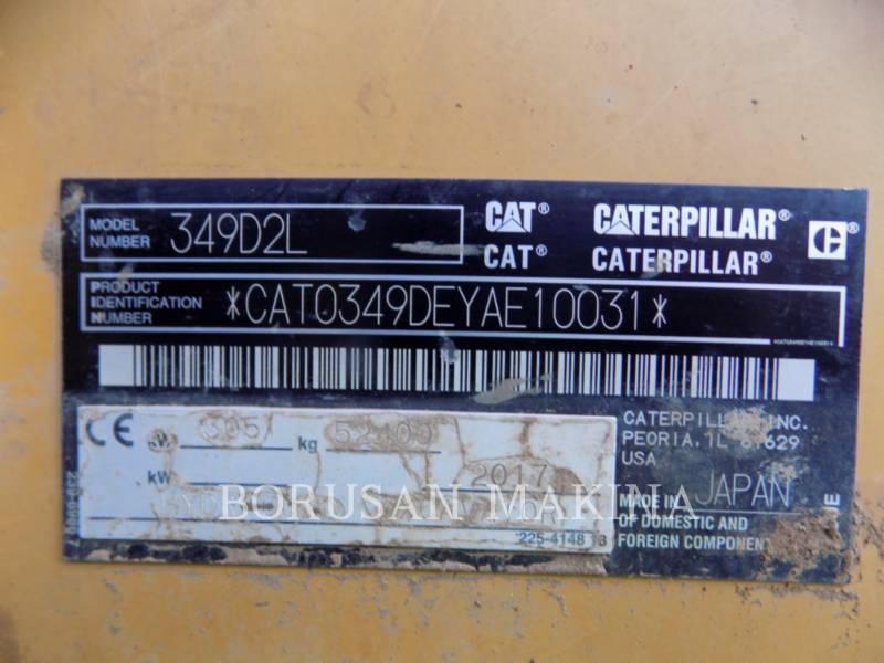 CATERPILLAR PELLES SUR CHAINES 349D2L equipment  photo 7