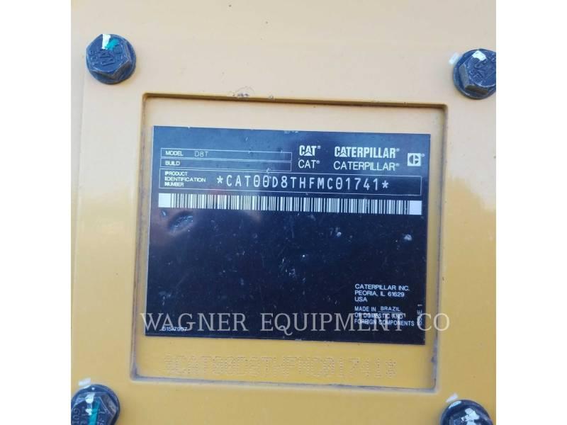 CATERPILLAR TRACK TYPE TRACTORS D8T equipment  photo 7