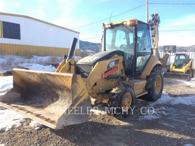 CATERPILLAR BACKHOE LOADERS 420E E AS equipment  photo 1