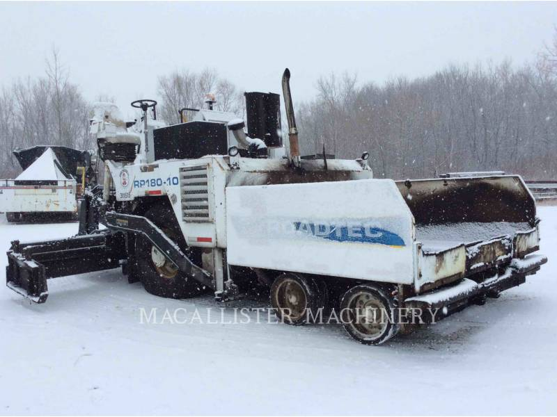 ROADTEC SCHWARZDECKENFERTIGER RP180-10 equipment  photo 1