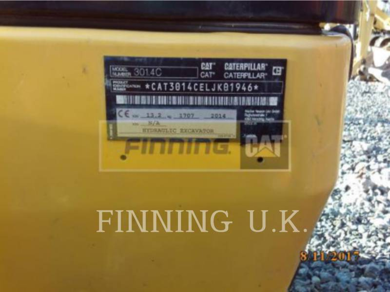 CATERPILLAR トラック油圧ショベル 301.4CEXCB equipment  photo 1