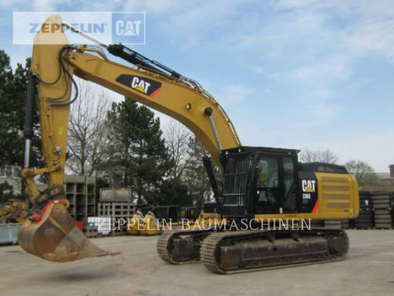 CATERPILLAR KETTEN-HYDRAULIKBAGGER 336ELNH equipment  photo 1
