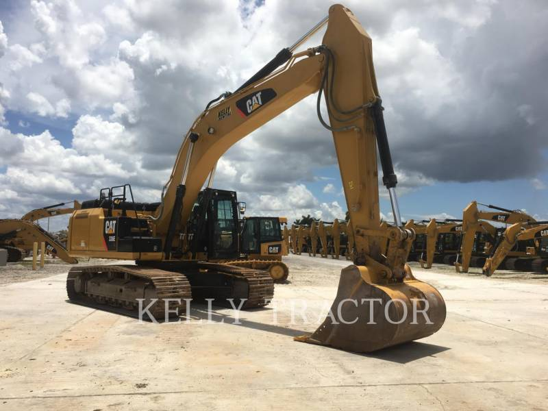 CATERPILLAR KETTEN-HYDRAULIKBAGGER 336EL equipment  photo 7