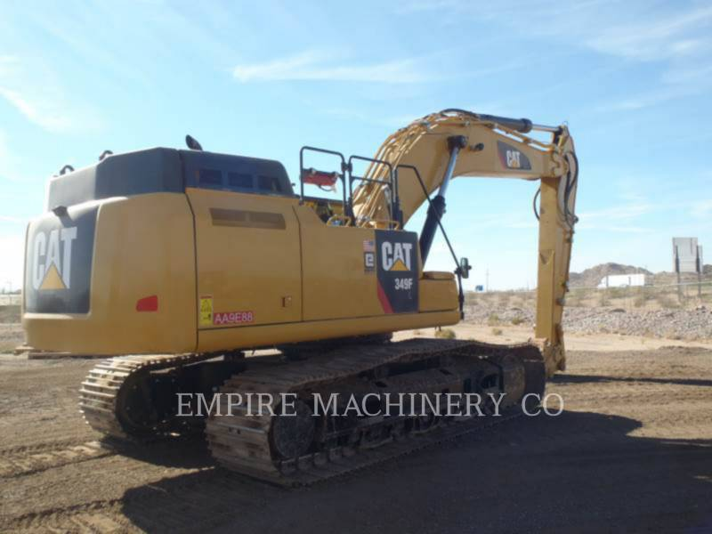 CATERPILLAR トラック油圧ショベル 349FL    P equipment  photo 2