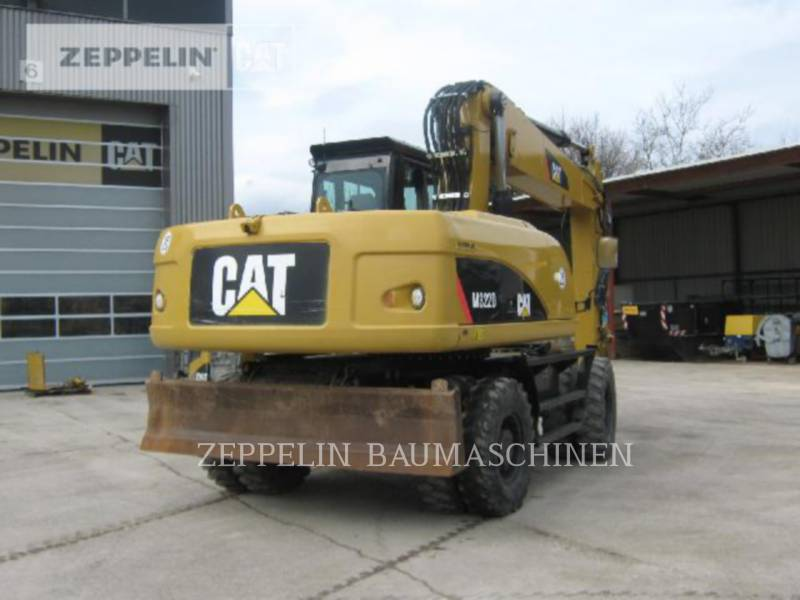 CATERPILLAR PELLES SUR PNEUS M322D equipment  photo 6