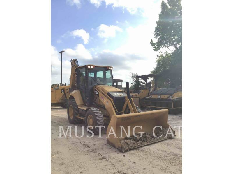 CATERPILLAR BAGGERLADER 420F2 4SCA equipment  photo 1