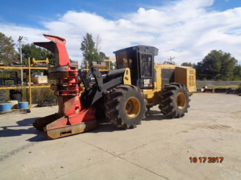 CATERPILLAR FORESTRY - FELLER BUNCHERS - WHEEL 563C equipment  photo 1