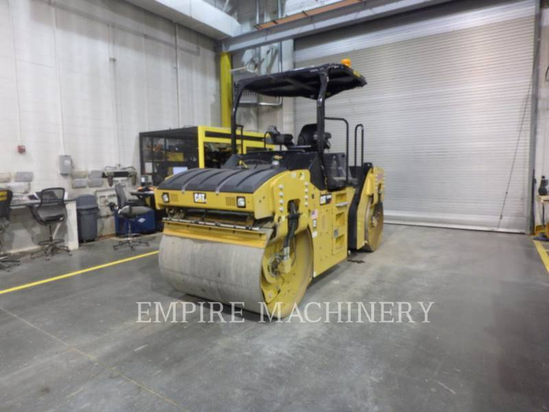 CATERPILLAR COMPACTEURS TANDEMS VIBRANTS CB44B equipment  photo 4