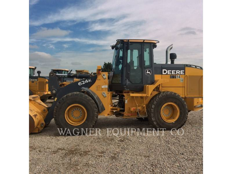 DEERE & CO. WHEEL LOADERS/INTEGRATED TOOLCARRIERS 624K equipment  photo 5