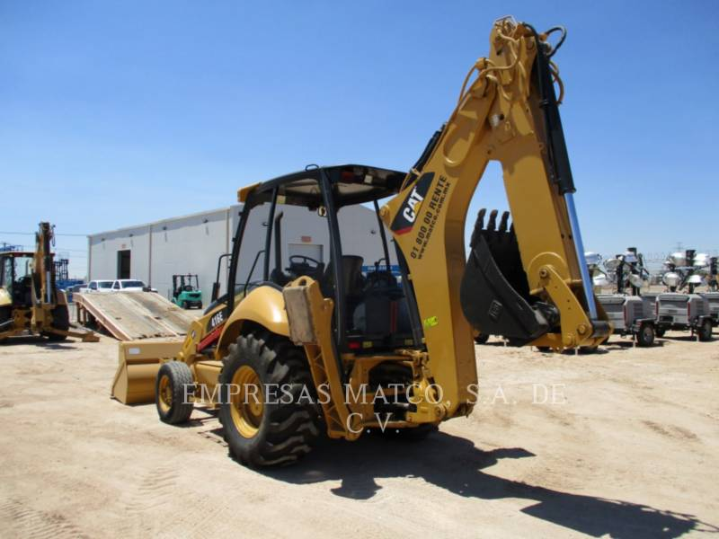CATERPILLAR BACKHOE LOADERS 416EST equipment  photo 5