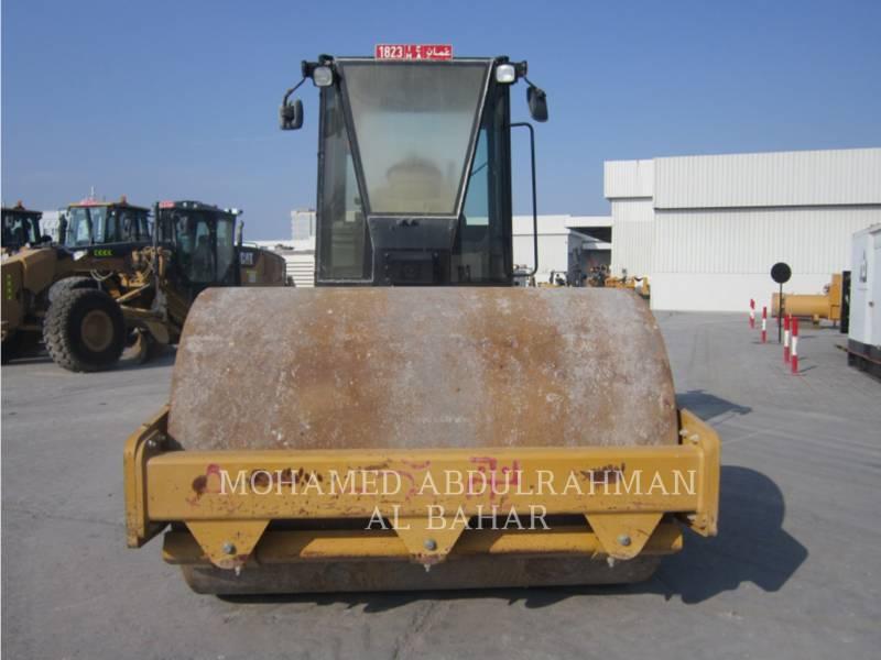 CATERPILLAR 振動シングル・ドラム・スムーズ CS 533 E equipment  photo 8