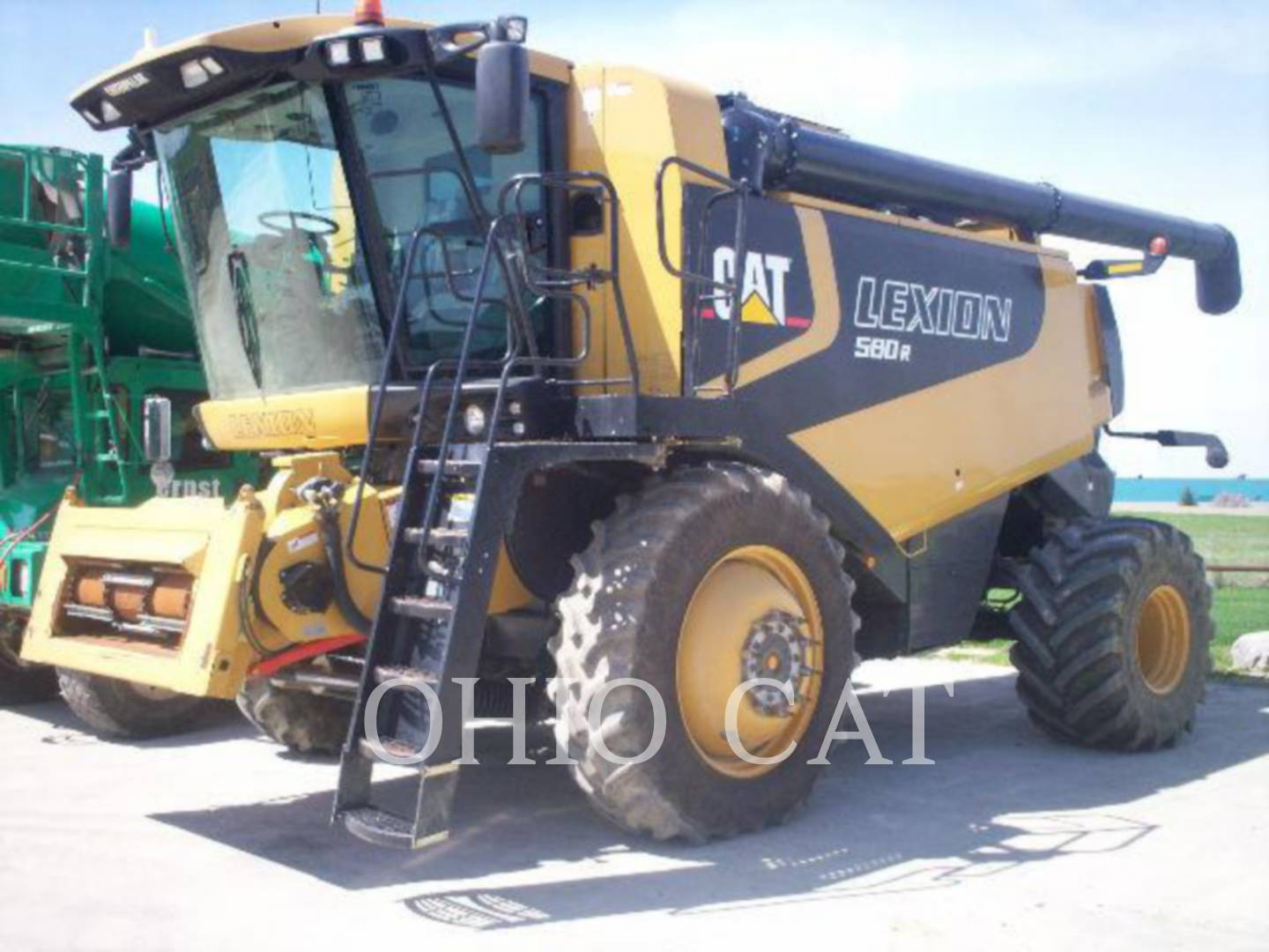 Detail photo of 2005 Claas LEX580R from Construction Equipment Guide