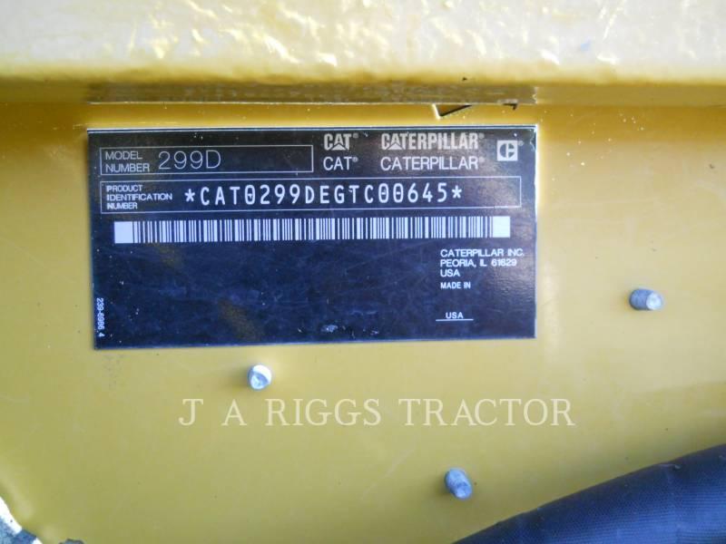CATERPILLAR CHARGEURS TOUT TERRAIN 299D AH equipment  photo 16