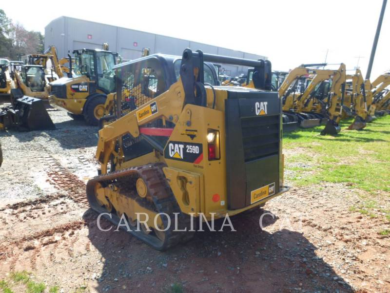 CATERPILLAR KETTENLADER 259D equipment  photo 3