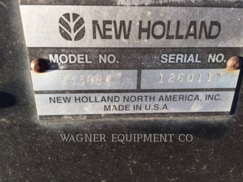 NEW HOLLAND LTD. TRATORES AGRÍCOLAS TV6070 equipment  photo 13