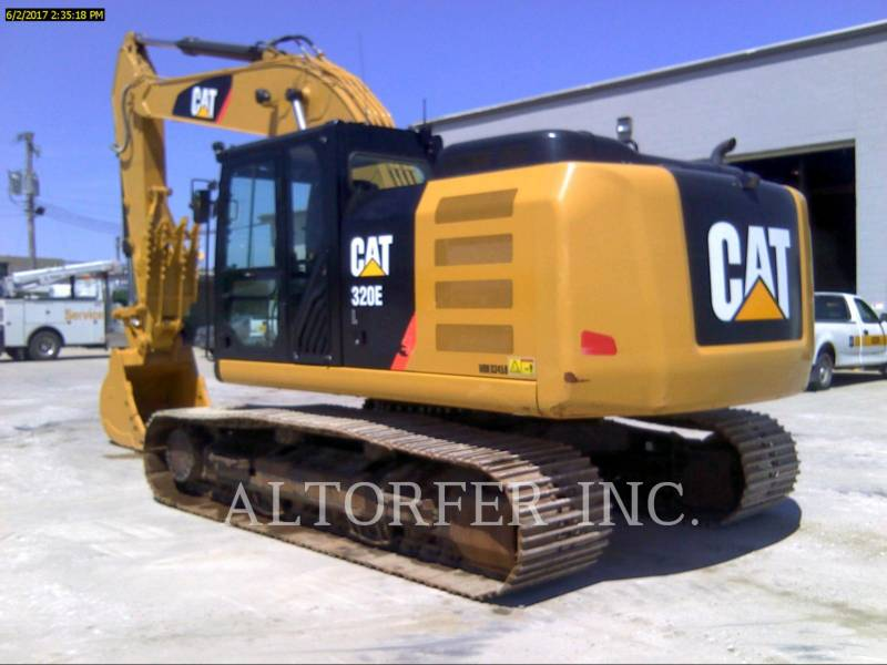 CATERPILLAR PELLES SUR CHAINES 320EL TH equipment  photo 5
