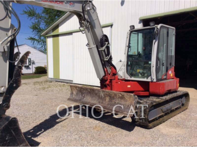TAKEUCHI MFG. CO. LTD. EXCAVADORAS DE CADENAS TB280FR equipment  photo 2