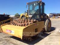 Equipment photo CATERPILLAR CP76 VIBRATORY SINGLE DRUM PAD 1