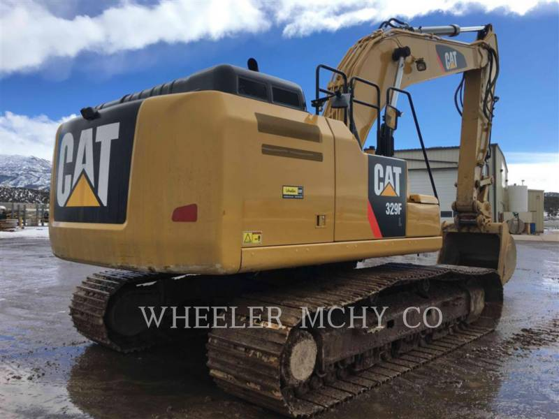 CATERPILLAR TRACK EXCAVATORS 329F L CF equipment  photo 1