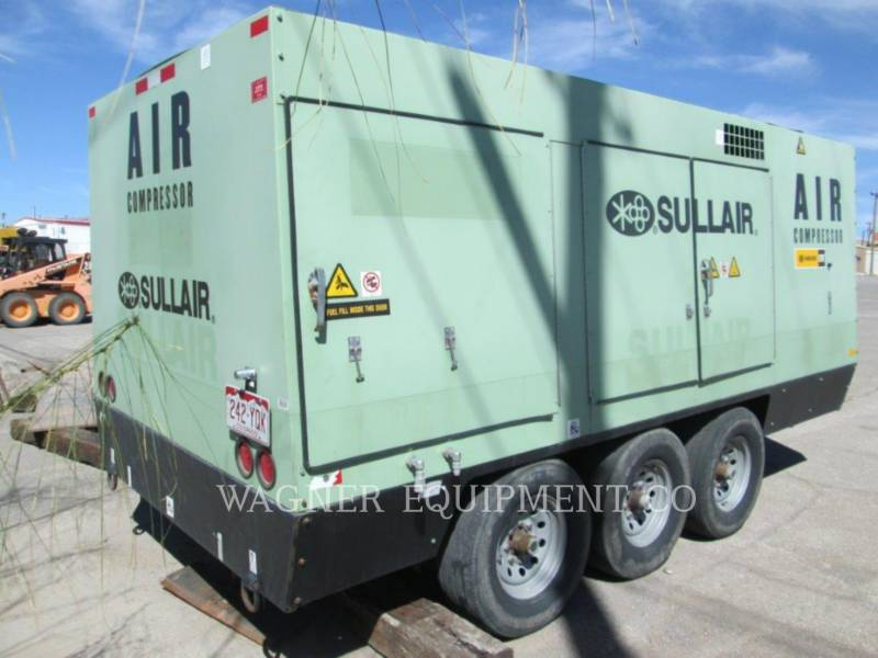 SULLAIR AIR COMPRESSOR (OBS) 900XHH/1150XHA equipment  photo 3