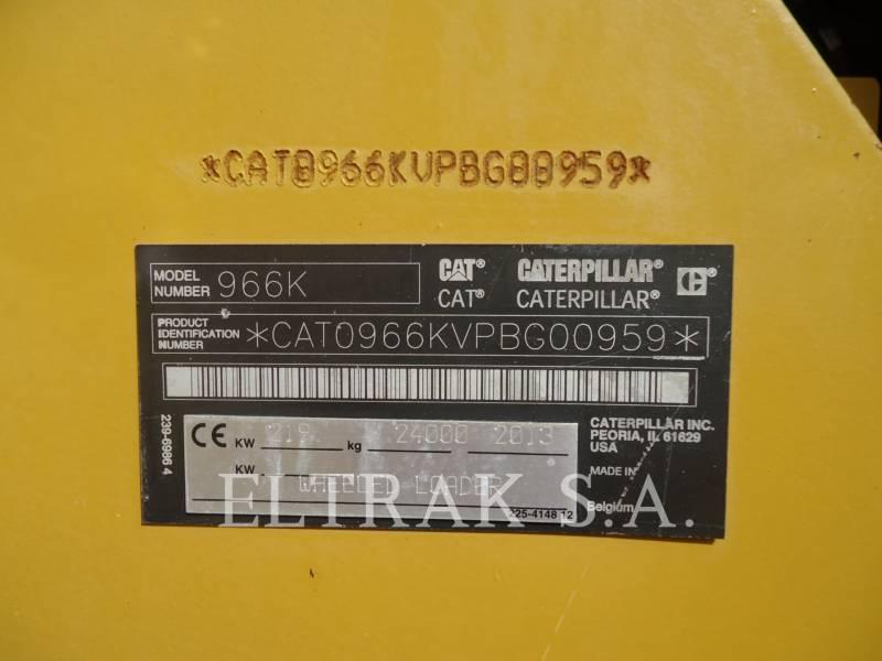 CATERPILLAR CARGADORES DE RUEDAS 966K equipment  photo 12