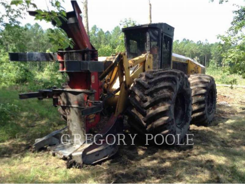 CATERPILLAR FORESTRY - FELLER BUNCHERS - WHEEL 573 equipment  photo 24