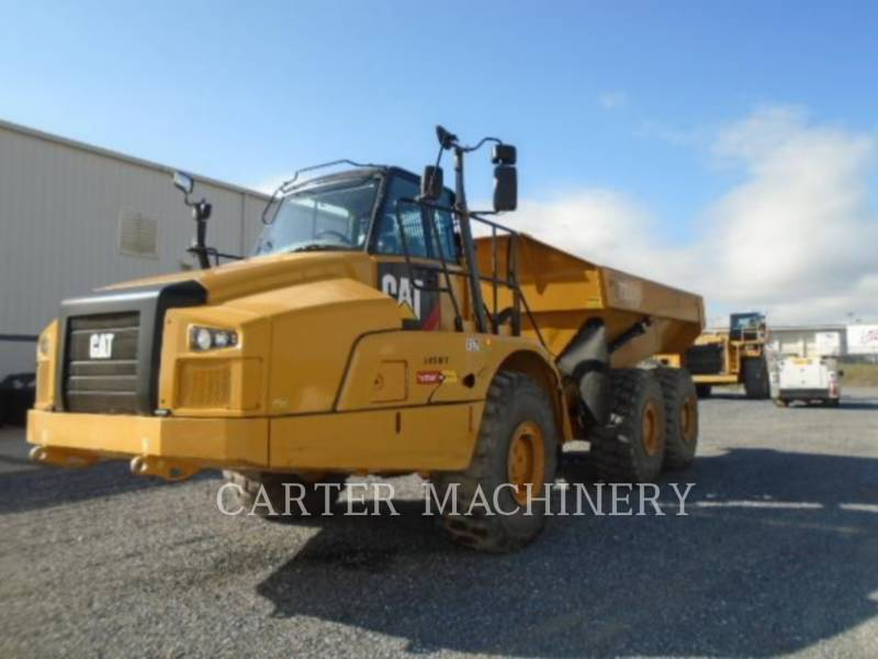 CATERPILLAR KNICKGELENKTE MULDENKIPPER 735C equipment  photo 2